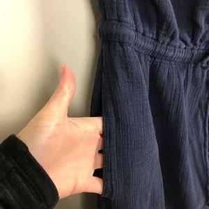 J. Crew Dresses - J. Crew Strapless Blue Dress Size Medium